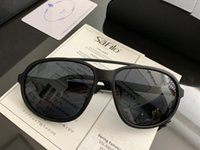 Wholesale fashion simple light luxury resale online - New luxury mens designer fashion sunglasses SPR06O ultra light colloid Business Driving Simple style eye glasses uv400 high quality eyewear