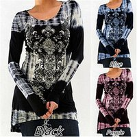 Wholesale women s clothing large online - New Trend Digital Print Casual Dresses Street People Round Collar Breathed Women Clothes Leisure Large Designer Dress