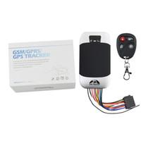 Wholesale gps tracking app online – Waterproof TK303G Motorcycle GPS Locator Rastreador Car GPS Tracker Coban GPS303G Cut off Engine Oil Real Time Web APP Track