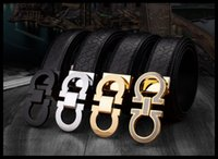 Wholesale Young Leather Men - The new digital buckle leather belt men's leather smooth button young belt business casual belt wholesale high quality
