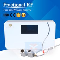 Wholesale thermage beauty machine - Factional RF Thermage Anti Aging Skin Tightening Wrinkle Removal Face Lift Portable Radio Frequency Body Firm Dot Matrix RF Beauty Machine