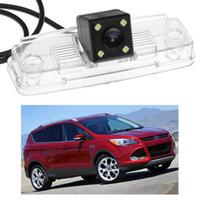 araba ters kamera ford toptan satış-Yeni 4LED Araba Dikiz Kamera Ters Yedekleme CCD Ford Escape 2013 2014 2015 2016 için fit