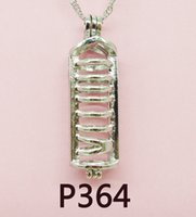 perla entrega gratuita al por mayor-2018-P364 # entrega gratuita Lady Party Jewelry Sets Pearl jaula colgante / collar / pulseras (envío gratuito de ostras de perlas)