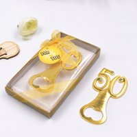 Wholesale wedding small gift europe online - 50 alloy beer bottle opener wedding gifts Europe and the United States small gift opener fast shipping