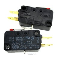 Wholesale Limit Switch Omron - Japan Omron Travel Limit Micro Switch D3V-011-1C23 0.1A 125VAC 30VDC
