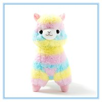 Wholesale Toys Sold Christmas - children gift hot selling Alpacasso Kawaii Alpaca Llama Arpakasso Soft Plush Toy Doll Gift OTH894