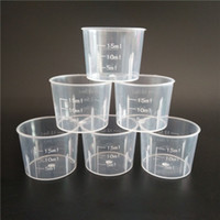 Measuring Cup 15ml Transparent Plastic Small Liquid Measuring Cup Kitchen Cooking Tool Free Shipping Wholesale ZA6165