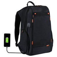 Wholesale usb camera outdoor - Outdoor Charging Backpack Camera Bag Backpack w USB Port Waterproof Breathable Travel Bag Wear-resisting Anti-theft