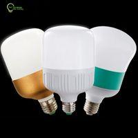 led ışıklar ampuller toptan satış-Enerji tasarrufu için LED silindir ışığı beyaz kısılabilir yüksek parlaklık E27 güç ekonomik ampuller led lamba