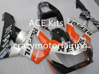 3 Regali Nuovi carenature iniezione ABS per CBR 00 01 CBR929RR CBR 929 929RR 900RR CBR900RR 2000 2001 Cool Orange Silver Black Yv5
