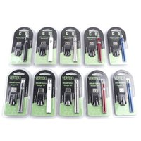 Wholesale battery packing - Preheat Battery Blister Pack 5 Colors 350mAh Vertex Preheating Variable Voltage VV Battery for Thick Oil Atomizer Tank CE3 G2 Vape 0204202