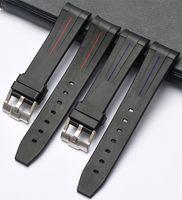 ремешок для часов 21 мм оптовых-КЛИМАТИК новый силиконовой резины группы часы ремни водонепроницаемый ремешок 20мм 21мм