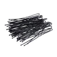 pasador de pelo negro al por mayor-300 Unids / set U Forma Bobby Pins Pinzas de Pelo Negro Mujeres Horquillas No Slip Grip Thin Bobby Pins Hold Back Bangs Reutilizables Horquillas