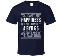ingrosso comprare vestiti di marca di cotone-Acquista A BYD G6 Happiness Car Lover T Shirt Top T-Shirt da uomo 100% cotone maschile Harajuku Top Fitness Brand Abbigliamento uomo manica corta Tee