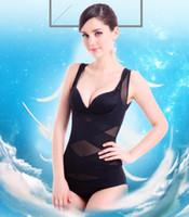 feste steuerung großhandel-Shapewear Top Seamless Firm Kontrolle für Frauen Tragen Sie Ihren eigenen BH Shaping Tank Push Up Leibchen Body Shaper
