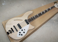 Wholesale alder fingerboard resale online - 2018 DIY Electric Bass Guitar with Strings White Pickguard Rosewood Fingerboard Good Quality