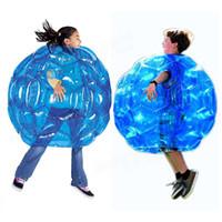 bola de bolha adulta venda por atacado-Nova chegada ao ar livre ferramenta de jogos Infláveis Corpo Bumper Balls PVC Bolha de Ar Ao Ar Livre Crianças / Adulto Jogo de Futebol Futebol