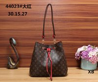 Wholesale ladies sequined tops - Top quality women European and american brand new lady real Leather artsy handbag tote bag purse Woman desginer bags wallets with tags A0087