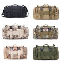 Wholesale utility pouches tactical for sale - Tactical Waist Pack Military P Waterproof Packs Utility Pouch Crossbody With Shoulder Strap Hand Carry Support FBA Drop Shipping G579F