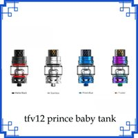 Wholesale baby king - hot sales TFV12 Baby Prince Tank ecigs 4.5ml Baby Beast King with V8 Baby Q4 T12 Mesh Coils 510 Vape Tank 0266207