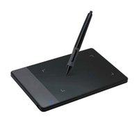 stylus stift usb großhandel-2017 Qualitäts-Zeichnung 420 4-Zoll-Digital-Tabletten Mini-USB-Signatur Pen Tablet Grafikdiagramm-Tablette OSU Spiel Tablet