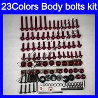 Fairing bolts full screw kit For SUZUKI TL1000R 98 99 00 01 02 03 TL1000 R 1998 1999 2000 2002 2003 Body Nuts screws nut bolt kit 25Colors
