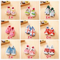 Wholesale baby cute designs for sale - Group buy New Design Cartoon Animal Pattern Printing Comfortable Cotton Non slip Baby Walk Breathable Shoes Cute Toddler Shoes Sizes a Set