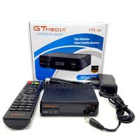 receptor de satélite wifi compatible al por mayor-Freesat V7S HD DVB-S / S2 Receptor de satélite Full HD1080P + USB WIFI Support YouTube, Biss key, Cccamd