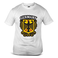 Wholesale fifa online - 1823 WH Germany Die Adler FIFA World Cup Football Soccer White Mens T Shirt