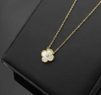 colliers de diamant rouge pour les femmes achat en gros de-Nouveau collier pendentif en acier titane 316L avec fleur et diamant pour les femmes collier de mariage en blanc noir rouge vert bleu couleur