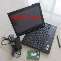 Wholesale Ista P - 2018.01 ISTA D 4.09.13 ISTA P 3.63.2 For BMW ICOM Software HDD in i7 Laptop X201T Touch screen
