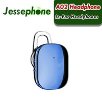 gancho de micrófono al por mayor-Baseus A02 Mini Bluetooth Auricular Manos Libres Inalámbrico Bluetooth Auriculares con Micrófono 4.1 Ear Hook Earbuds Auriculares 60 unids