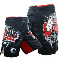 thai heißer mann großhandel-Die neueste heiße neue VSZAP EXPLODING Mode Kampf Shorts MMA Fitness Kampf Muay Thai Sanda Hohe Elastische Polyester Shorts Männer