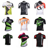 merida tops al por mayor-Camiseta de ciclismo manga corta equipo MERIDA 2018 Última camiseta de ciclismo talla XS-4XL Camiseta de equitación exterior D310