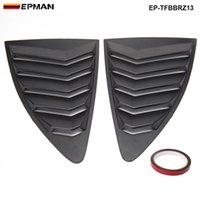 ingrosso pannelli quarti-EPMAN - Per Scion FRS Subaru BRZ 13-18 stile ABS pannello laterale posteriore feritoia quarto pannello finestrini EP-TFBBRZ13