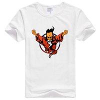 Wholesale Purple Wizard - Asian Size Men Print Thunderdome wizard Hardcore Techno and Gabber T-shirt O-Neck Short Sleeve T-shirt HCP486