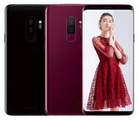 android chinese fernseher großhandel-Entsperrt Dual-SIM-Telefon chinesische Goophone S9 Octa Core 4G RAM 128G ROM Gezeigt 4G LTE 6,2 Zoll HD-Smartphones