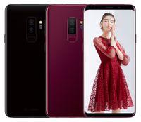 ingrosso android cinese tv-Telefono dual sim simulato cinese simulato S9 octa core 4G RAM 128G ROM mostrato 4G LTE 6.2 pollici HD smartphone