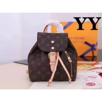 Wholesale skull shaped glitter online - SPERONE N41578 LADY BACKPACK LUGGAGE SHOULDER BAG PURSE wallet Backpack Duffle Bags Lifestyle Luggage