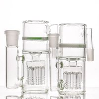 Wholesale designed bongs for sale - Group buy 8arms Ash Catcher Modern Design white honeycomb ash catchers for water bong glass bong mm and mm