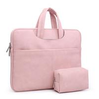 ingrosso borse fasion-Borse da donna in pelle PU portatile in pelle affari valigetta borse a tracolla borsa notebook portatile moda casual nero 2018