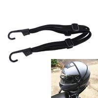 эластичный банджи оптовых-New Sale Practical Luggage Helmet Net Rope Belt Bungee Cord Elastic Strap Cable With Hook