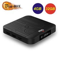 lecteur multimédia pc achat en gros de-4 Go Smart TV Box Android 8.1 Rockchip RK3328 Mini PC Mini Core Wifi M9S J1 Wifi 4 Go 32 Go Set Top Box Wifi 4K HDR Lecteur multimédia USB 3.0