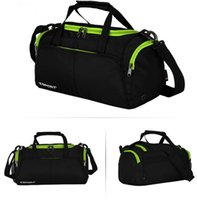 Wholesale Bowling Handbags - New outdoor sports large capacity waterproof travel bag Fitness football training bag handbag outdoor gear bag free shopping
