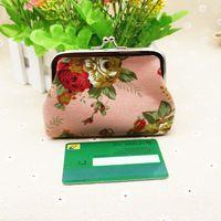 Wholesale Money Cute - Money Storage Gift Wallets Women Mini Cute Plush Coin Purse Change Purse Bag card bag with free shipping