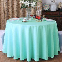 wholesale white round cloth tablecloths buy cheap white round rh dhgate com