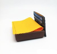 Wholesale Ties Organizer - 2018 high quality stereo feeling really pickup package wallet card bus card package Credit Card Holder Oil Wax Cowhide Women Genuine Leather