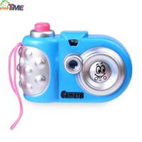 câmera digital menina venda por atacado-Novas Crianças Bonitos e Coloridos Dos Desenhos Animados Mini Brilho Câmera Educacional Brinquedos Cores Diferentes para Meninos e Meninas
