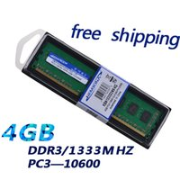 Wholesale Ddr3 Pc3 - HOT SALE ! Free Shipping--DDR3 RAM 4GB 1333MHZ 1.5v for Desktop PC3-10600For All MB and AMD