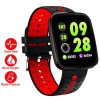 ingrosso misura intelligente orologio bit-La vita a colori intelligente Wristband Health Watch Heart Rate Pressione / Blood / O2 Monitor braccialetto per Xiaomi Mi PK banda 2 / Fit Bit 3